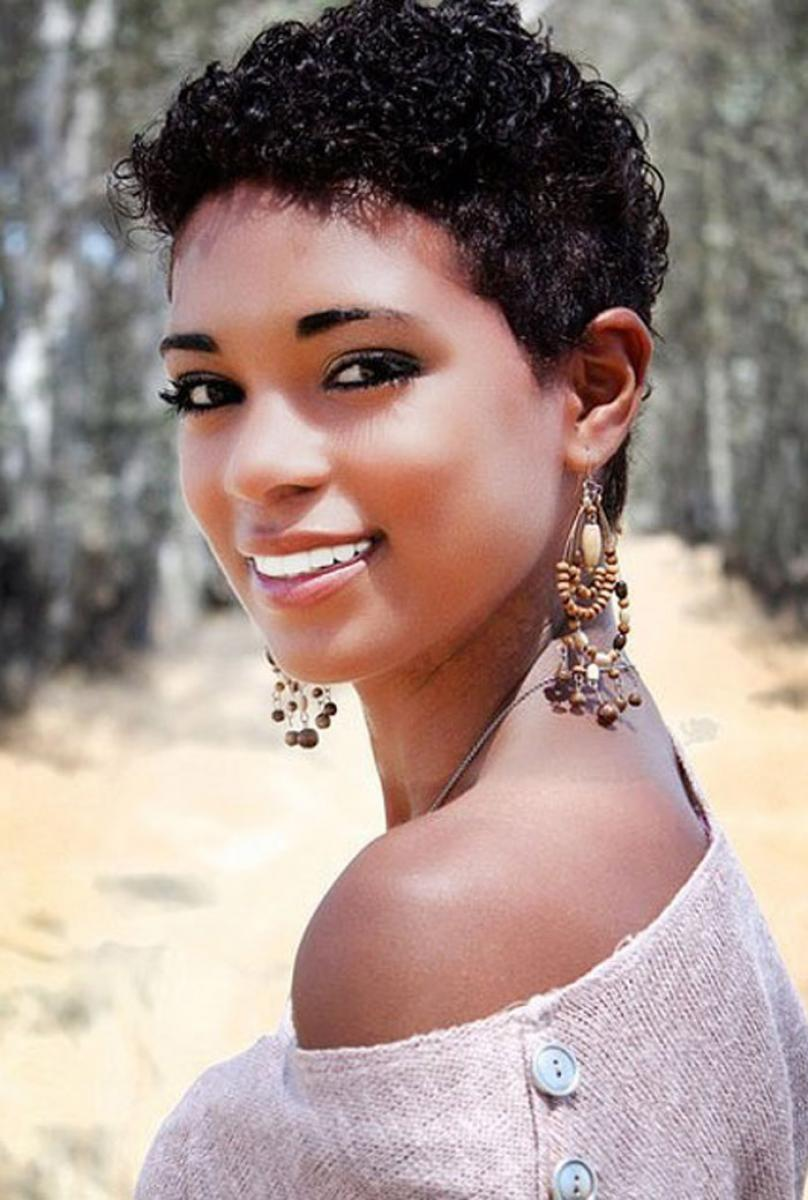 Black Short Curly Hairstyles for Black Women Hairstyles ...