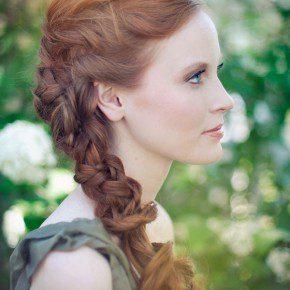 Braided Hairstyles Long Hair Wedding