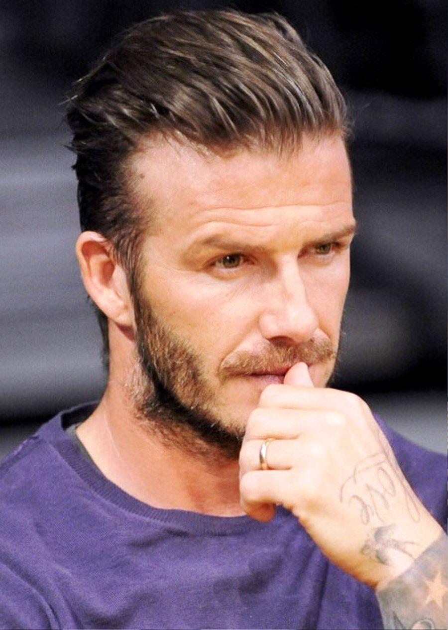 David Beckham Fashion Hairstyles Stylish Hairstyles For Men Image.