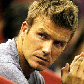 David Beckham Fauxhawk Haircut