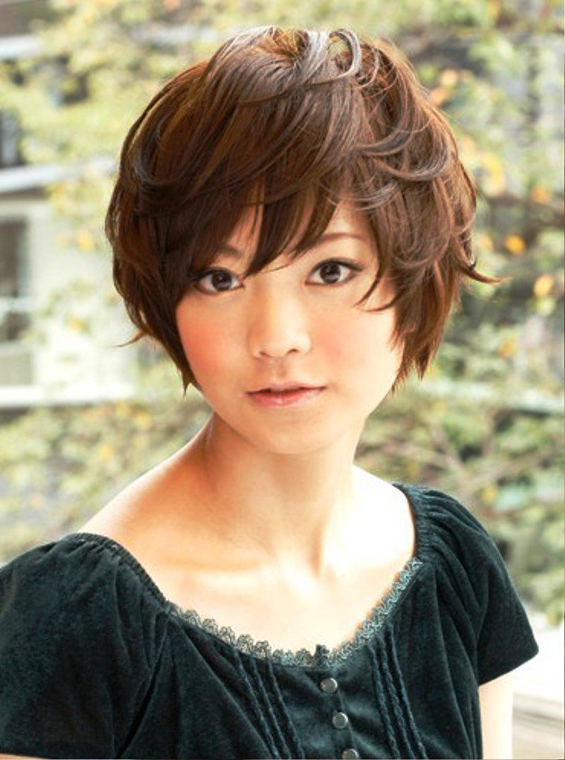 Layered Japanese Hairstyle Pictures