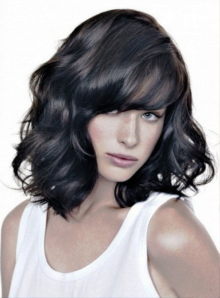 Medium Wavy Hairstyles For Black Hair Hairstyles Ideas ...