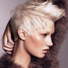 Punk Short Blonde Hairstyles