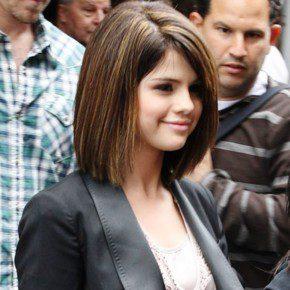 Selena Gomez Short Blunt Bob Haircut