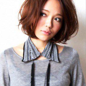 Stylish Short Japanese Haircut For Girls