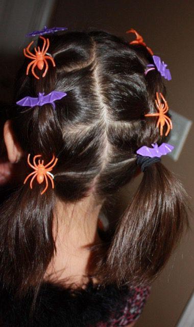 Halloween Girls Hairstyle