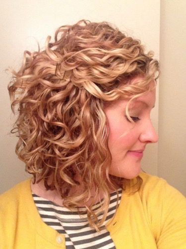 Short Curly Hair Twist