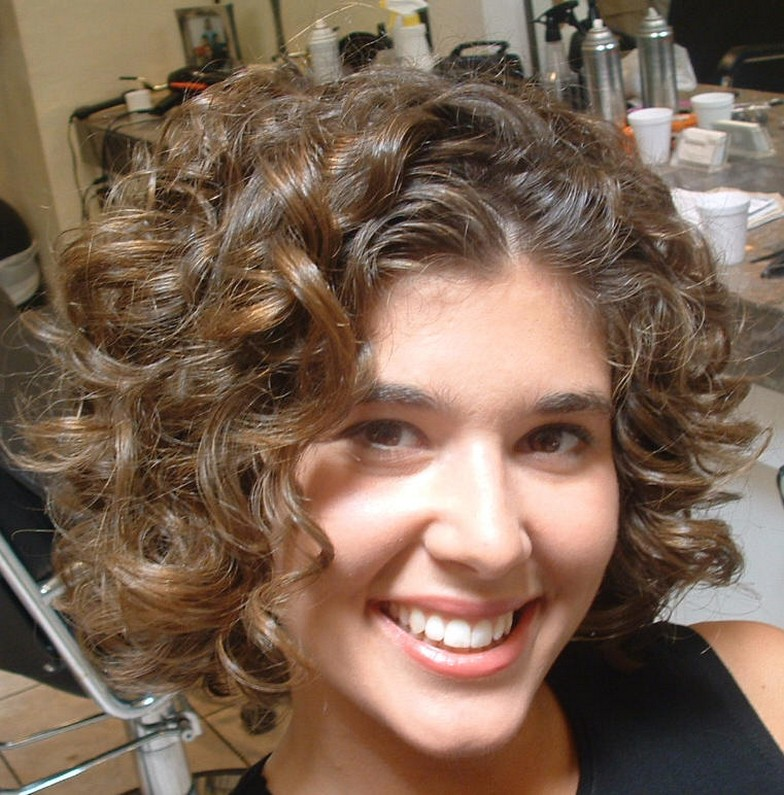Short Hairstyles For Curly Hair Hairstyles Ideas Short