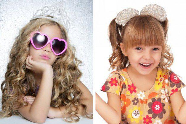 Short Hairstyles Kids Girls