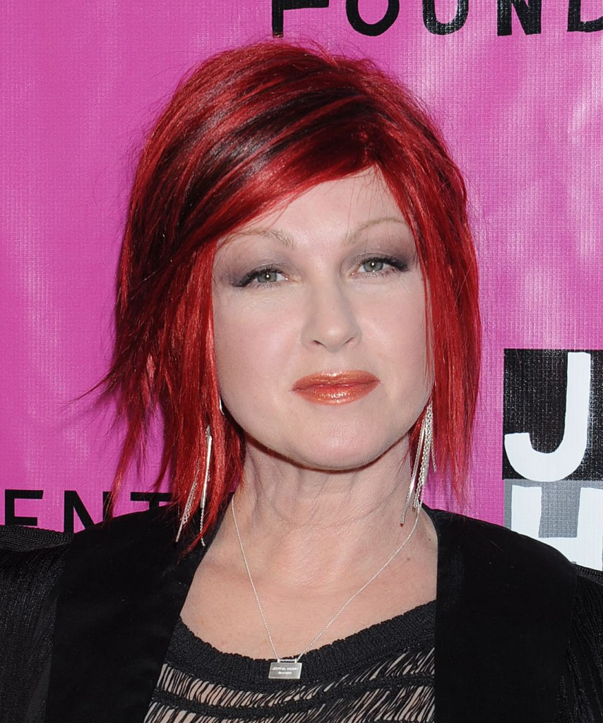 pictures of short hairstyles pink