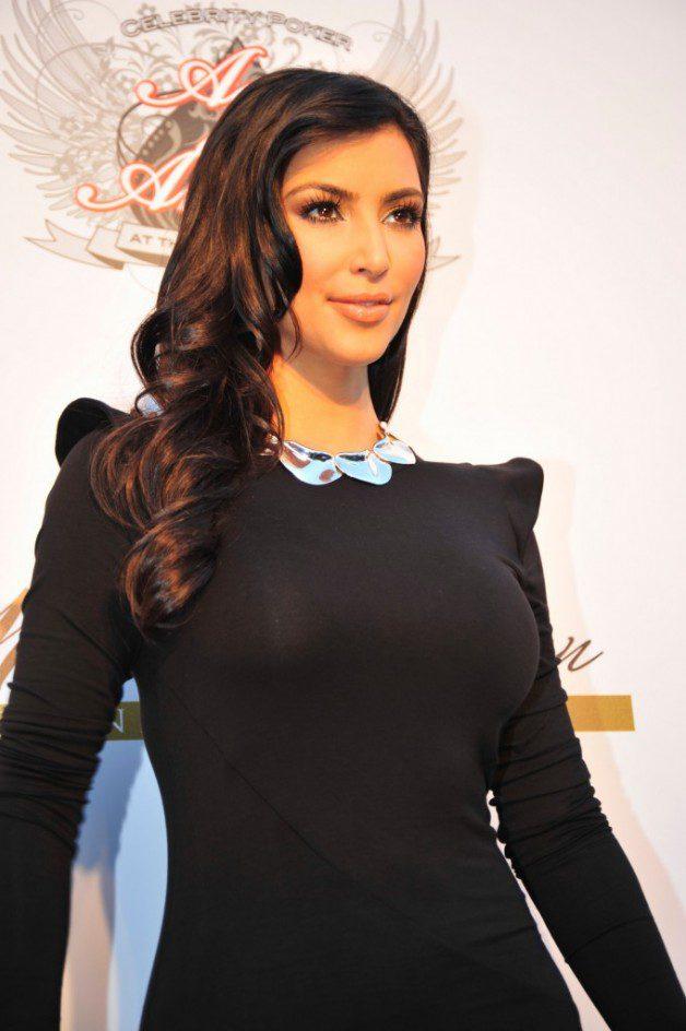 Updo Hairstyles Kim Kardashian