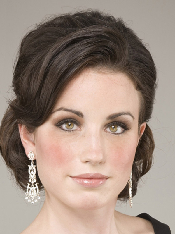 Updo Hairstyles Medium Length Fine Hair Hairstyles Ideas
