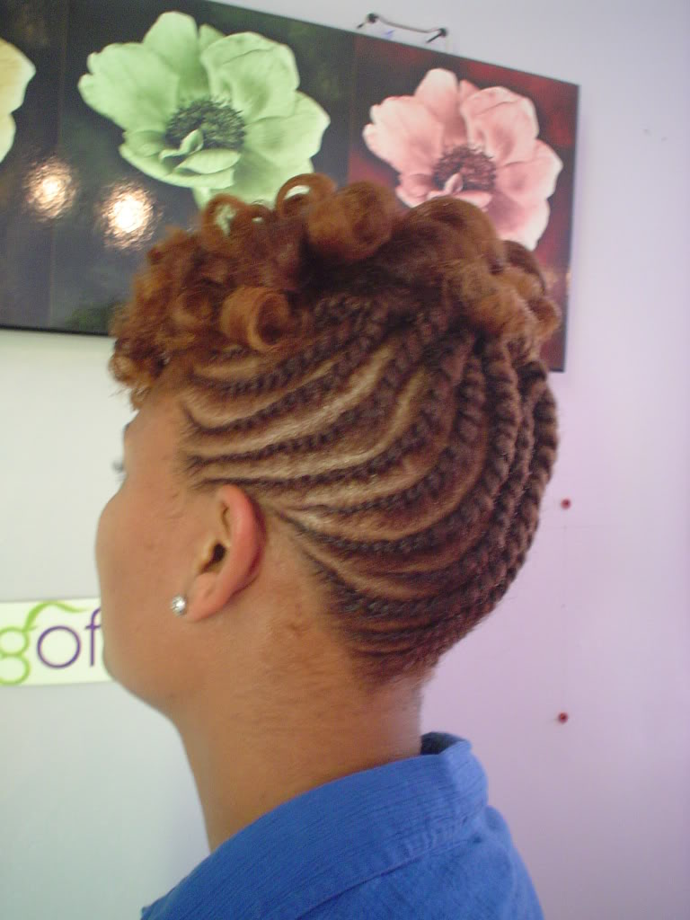 Updo Hairstyles On Natural Hair Hairstyles Ideas Updo