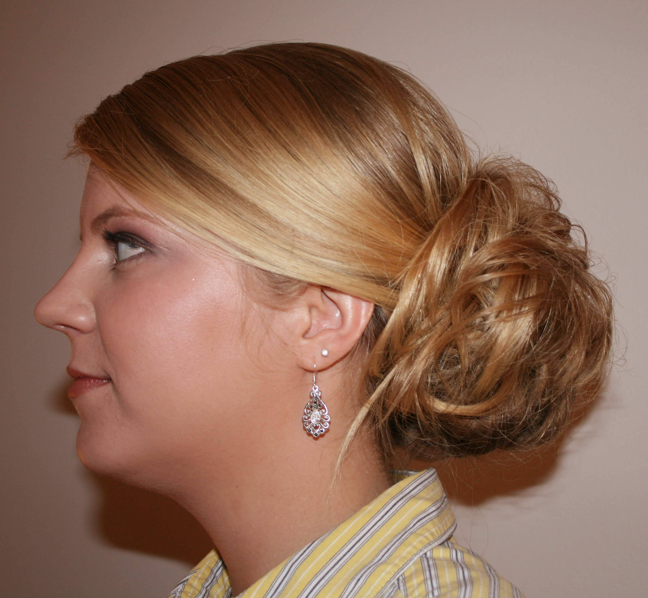 Updo Hairstyles On The Side Hairstyles Ideas Updo