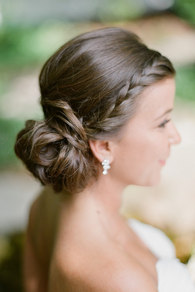 Pictures Of Updo Hairstyles The Knot
