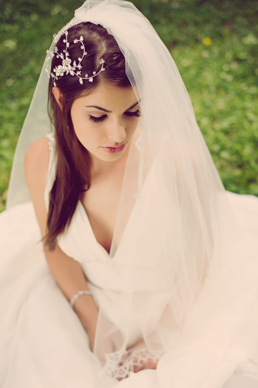 pictures of wedding hairstyles 2012 with veil