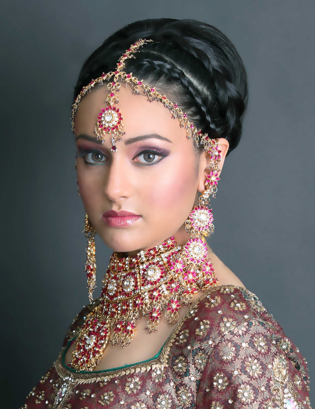 pictures of wedding hairstyles indian