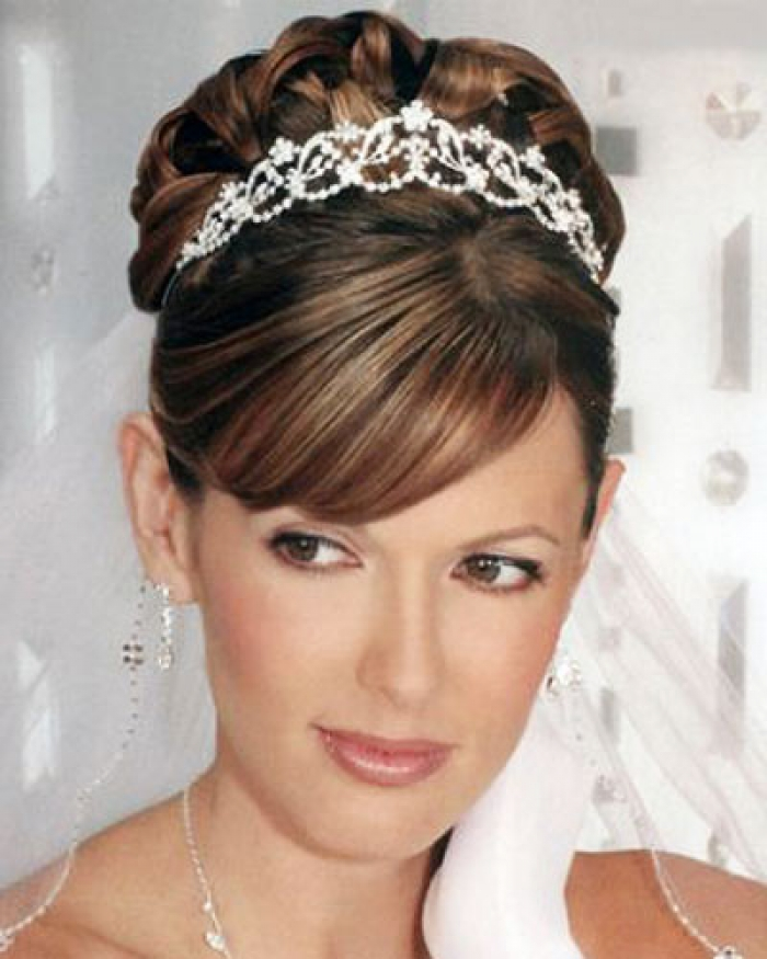 16 Gorgeous Medium Length Wedding Hairstyles: Wedding Hairstyles Shoulder Length Hair Hairstyles Ideas