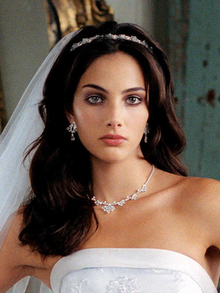 Wedding Hairstyles Tiara Pictures