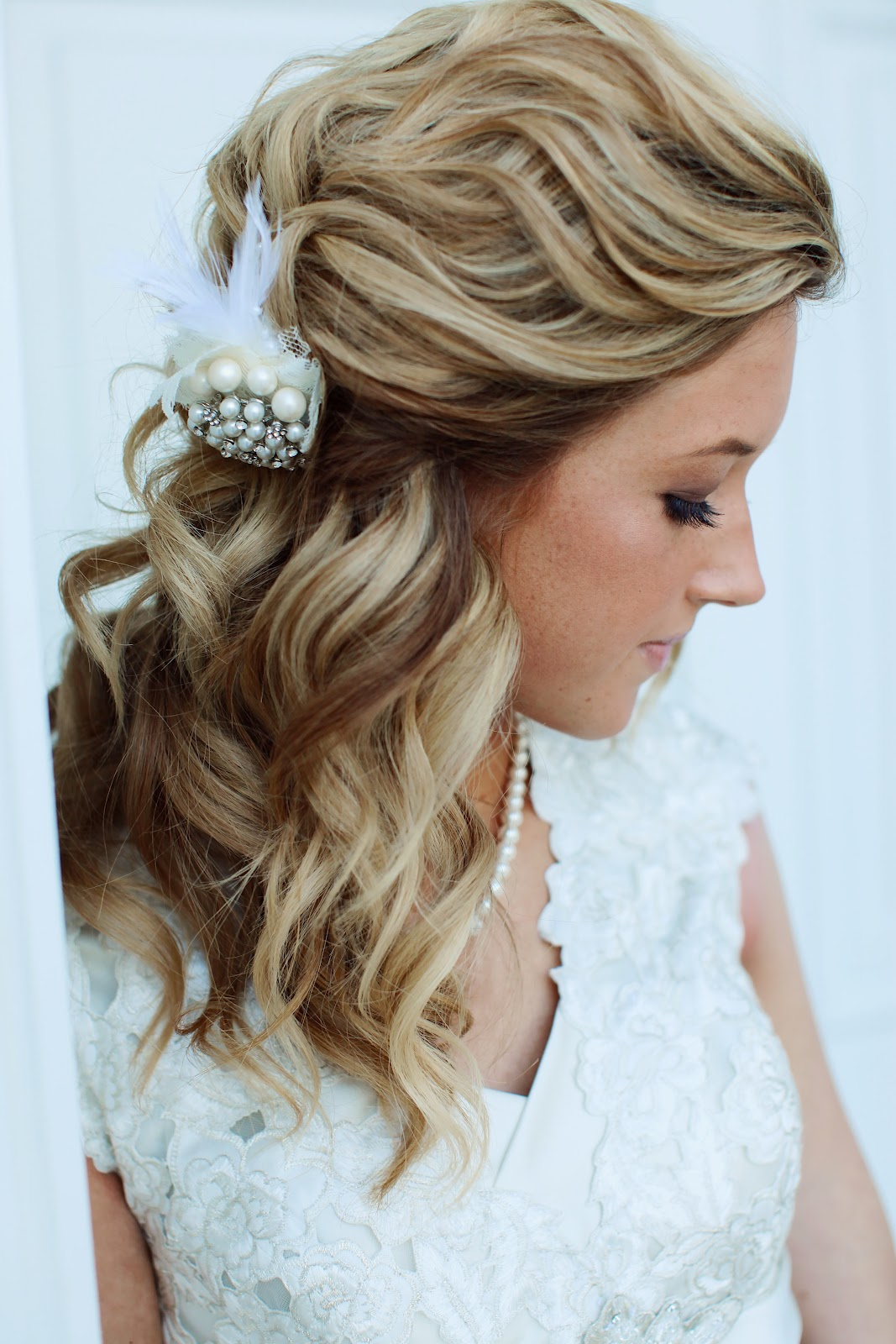 pictures of wedding hairstyles with bangs