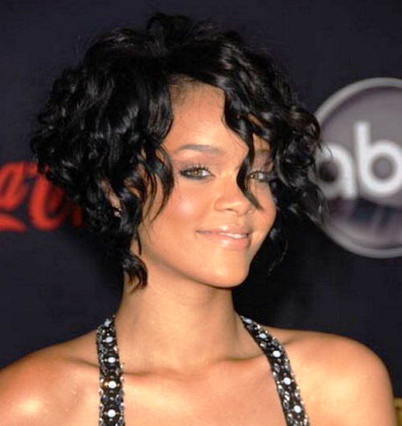 Black Curly Hairstyles By Rihanna Hairstyles Ideas Black