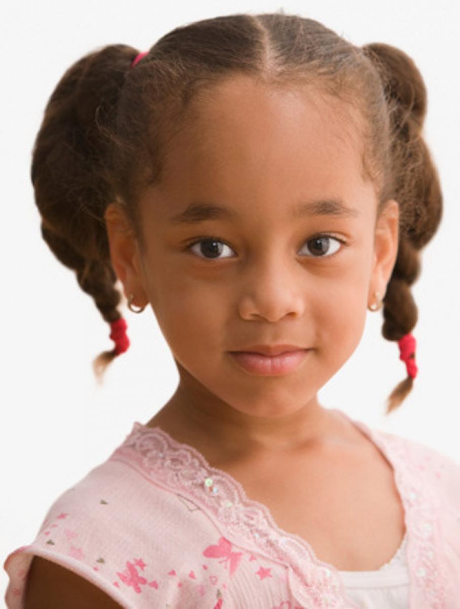 Little cute black girls — pic 14