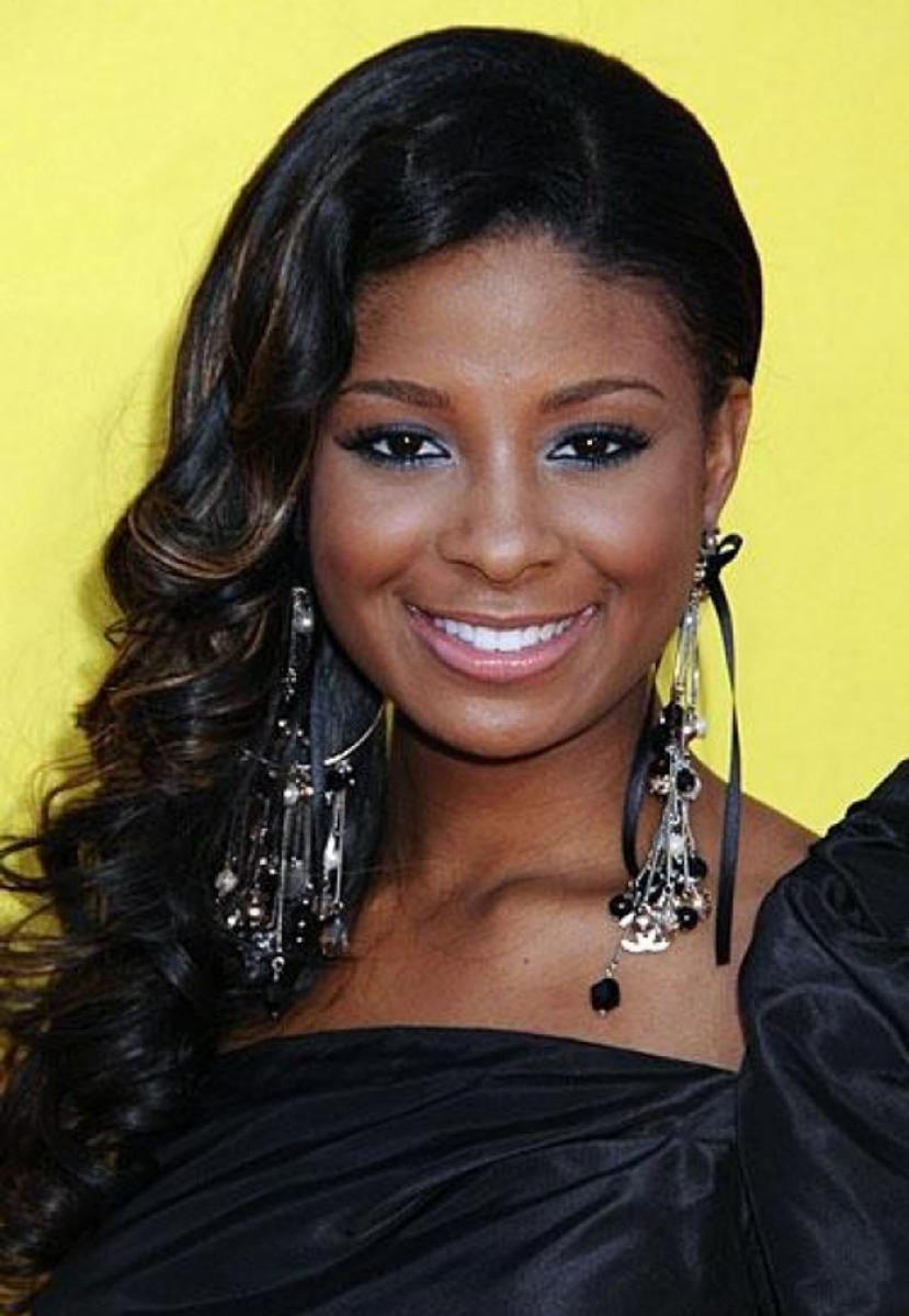 pictures of black prom hairstyles with weave