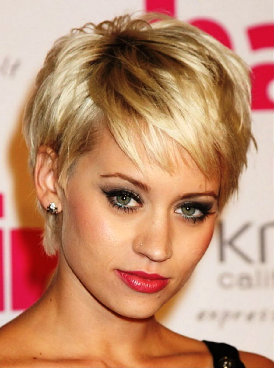 Pictures Of Blonde Short Hairstyles Easy