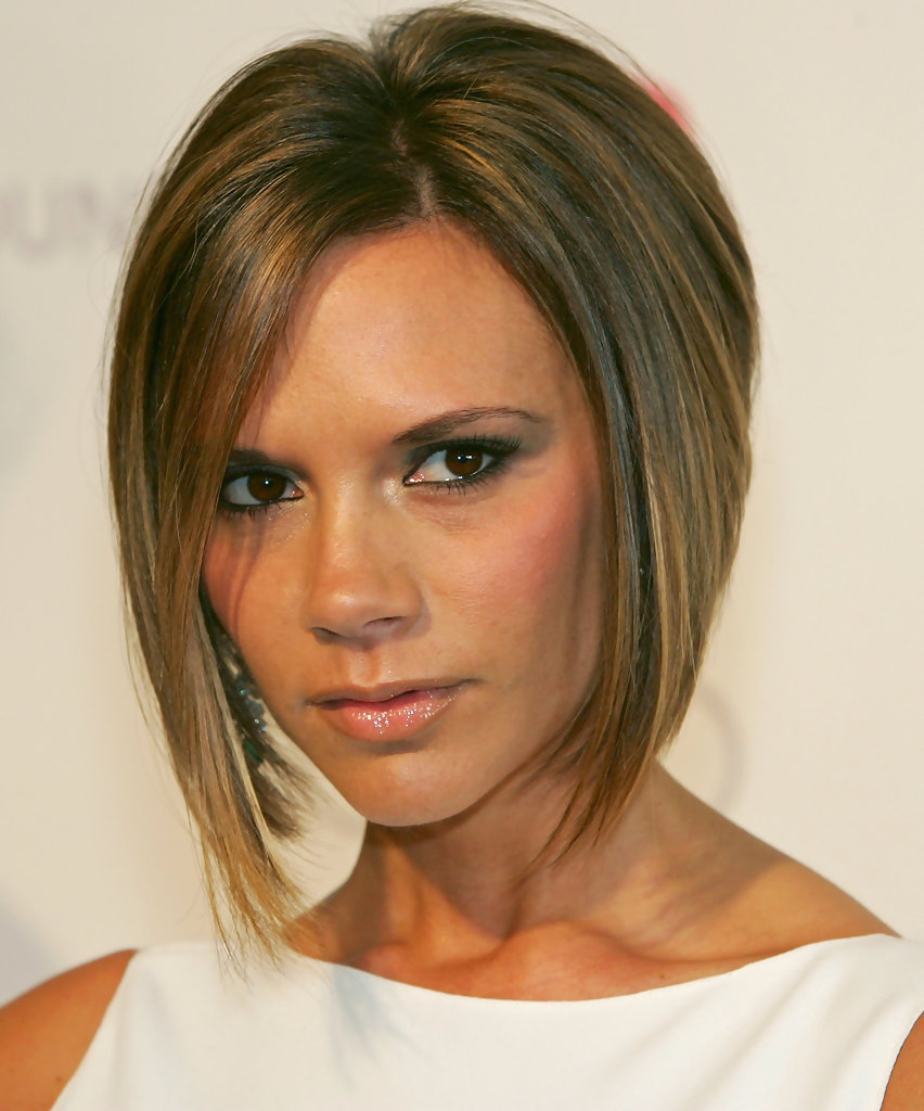 pictures of bob hairstyles victoria beckham