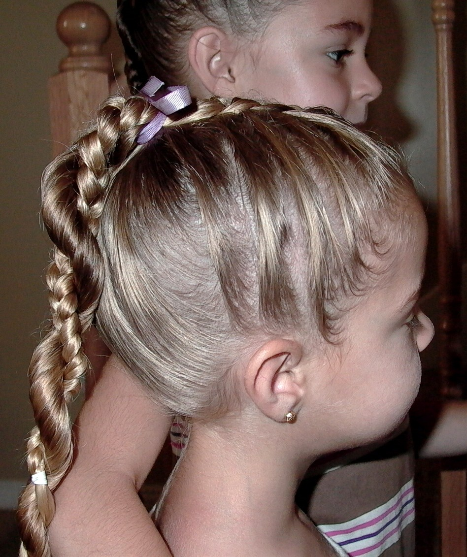 Braided Hairstyles For Little Girls African American