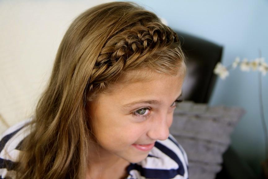 Incredible Braided Hairstyles For Little Girls With Short Hair Behairstyles Com Short Hairstyles Gunalazisus