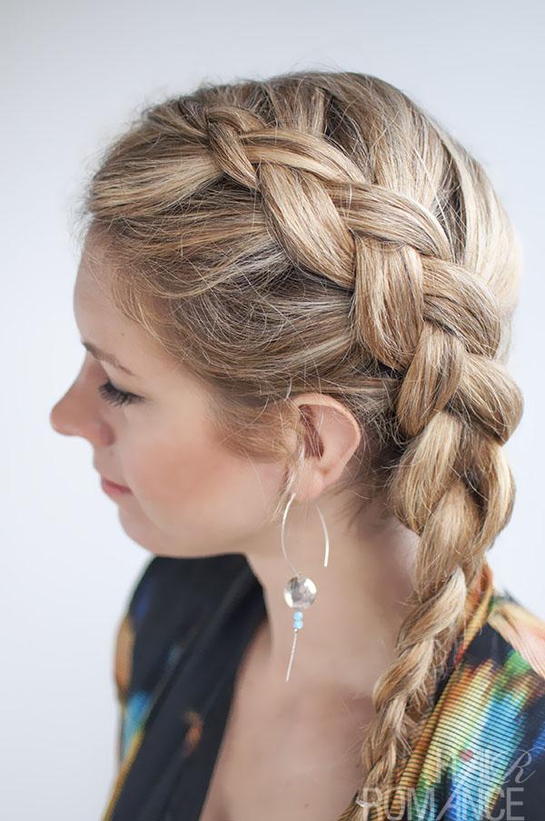 Braided Hairstyles Medium Length Hairstyles Ideas Braided