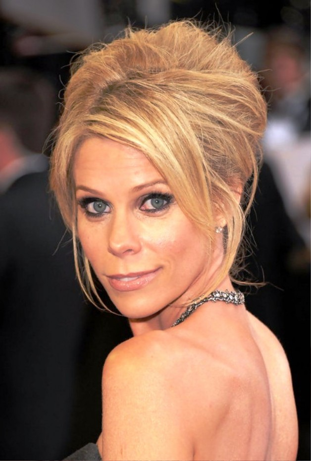 Cheryl Hine Textured French Twist Updo Hairstyle