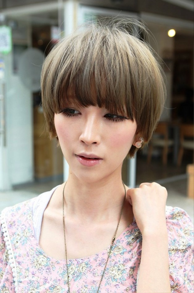 Cool Short Asian Haircut Behairstyles