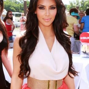 Curly Hairstyles Kim Kardashian