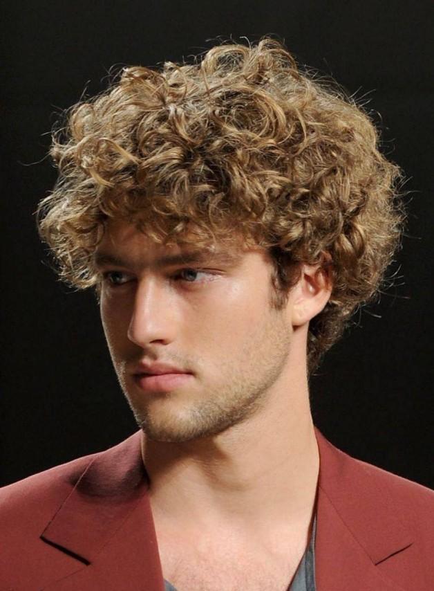 Curly Hairstyles Men Tumblr