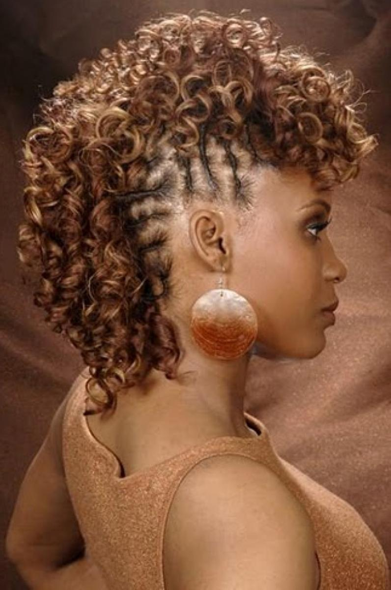 Curly Mohawk Hairstyles For Black Women Hairstyle Ideas Be Hairstyles