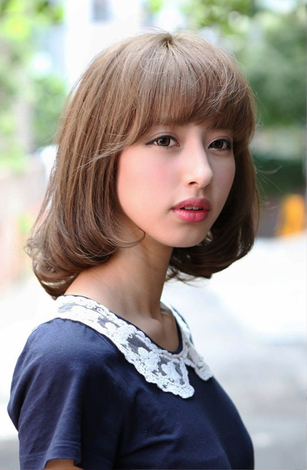 Pictures Of Cute Japanese Bob Hairstyle For Girls