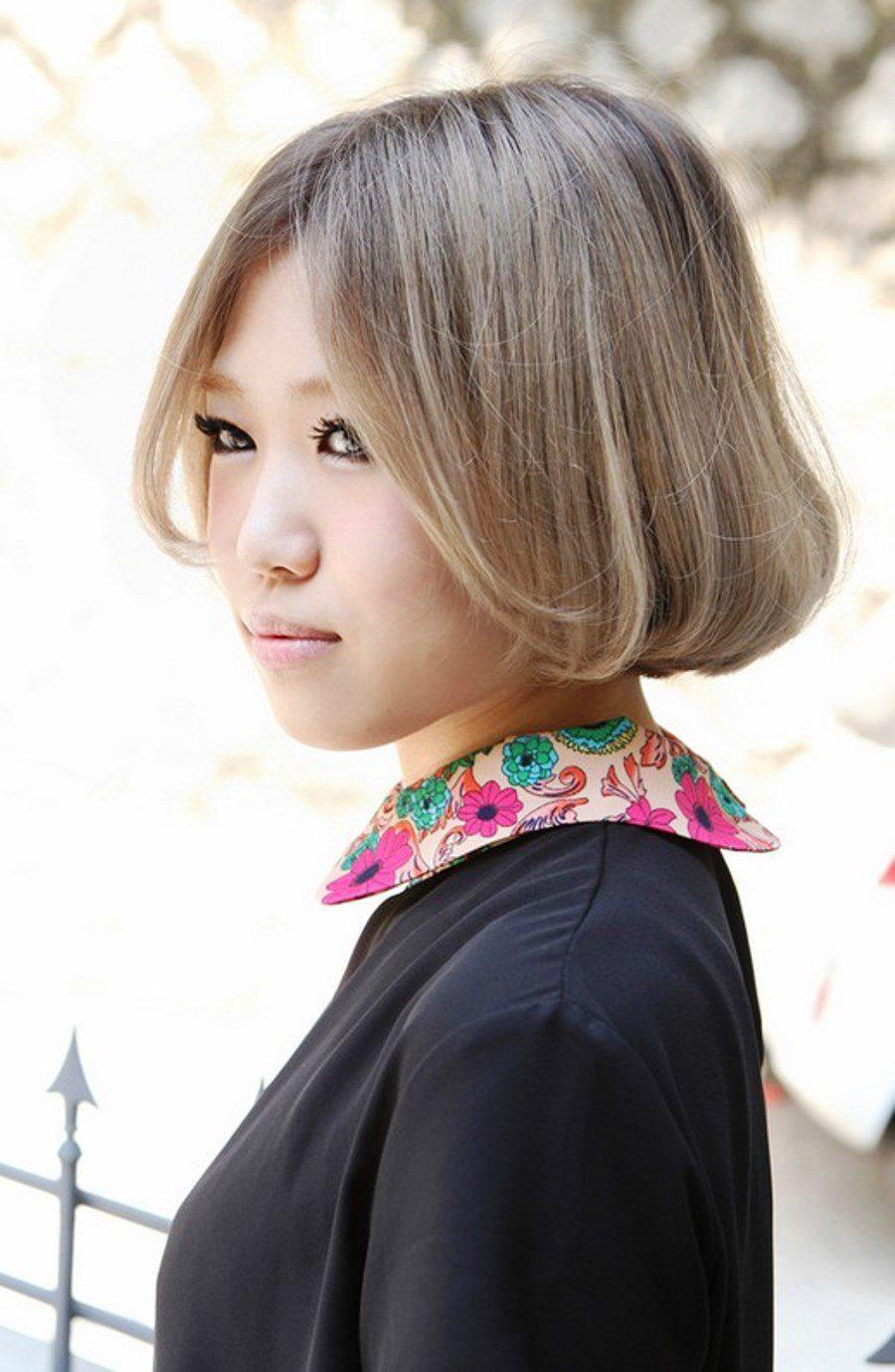 pictures of cute short asian bob haircut