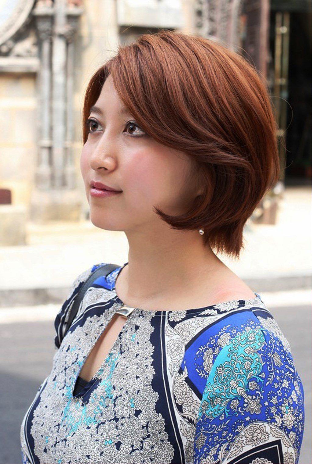 Cute Short Asian Bob Hairstyle For Women Hairstyles Ideas Cute