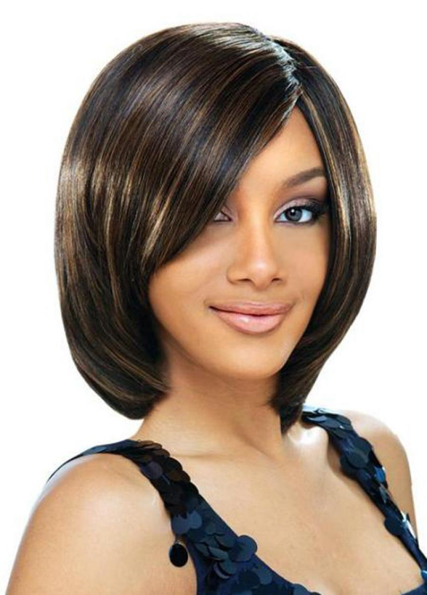 pictures of cute short bob hairstyles for black women