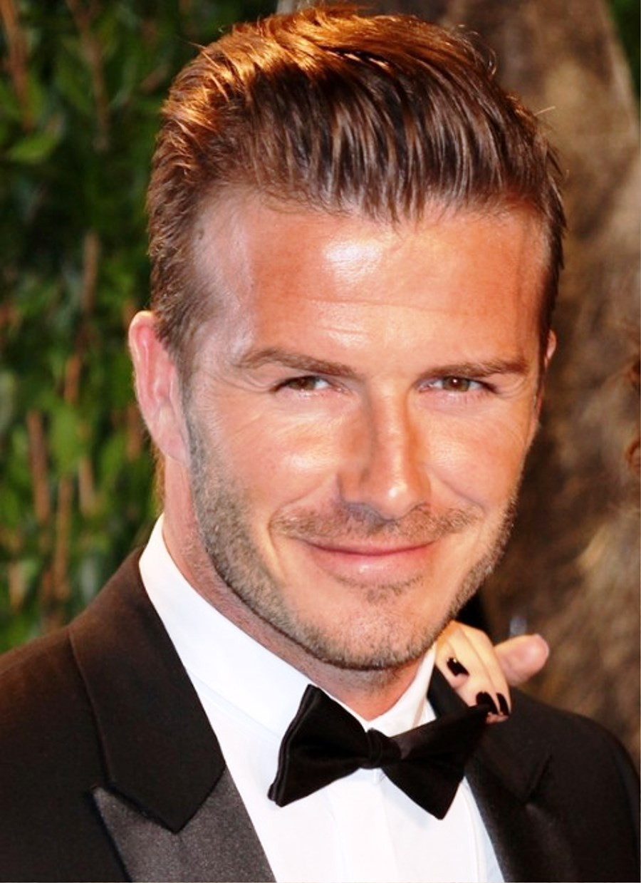 Pictures Of David Beckham Haircut 2013