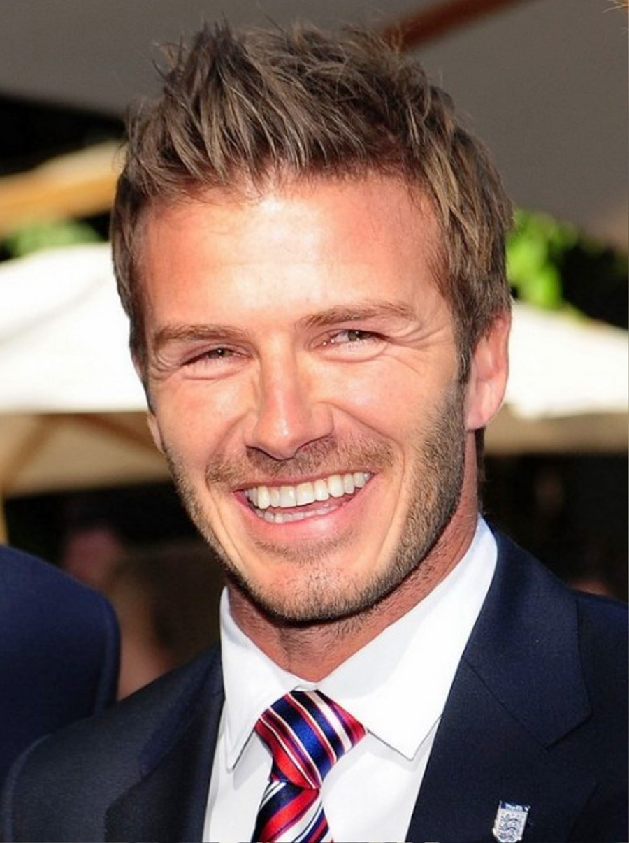 Pictures Of David Beckham Latest Short Hairstyles For Men