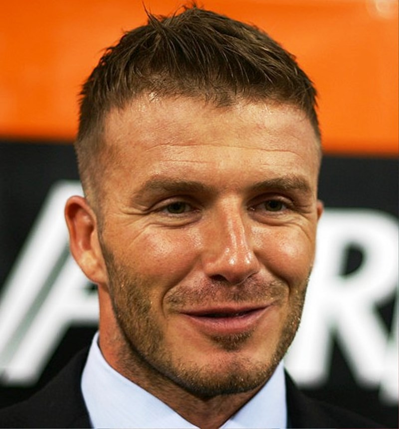 Pictures Of David Beckham Short Hairstyles