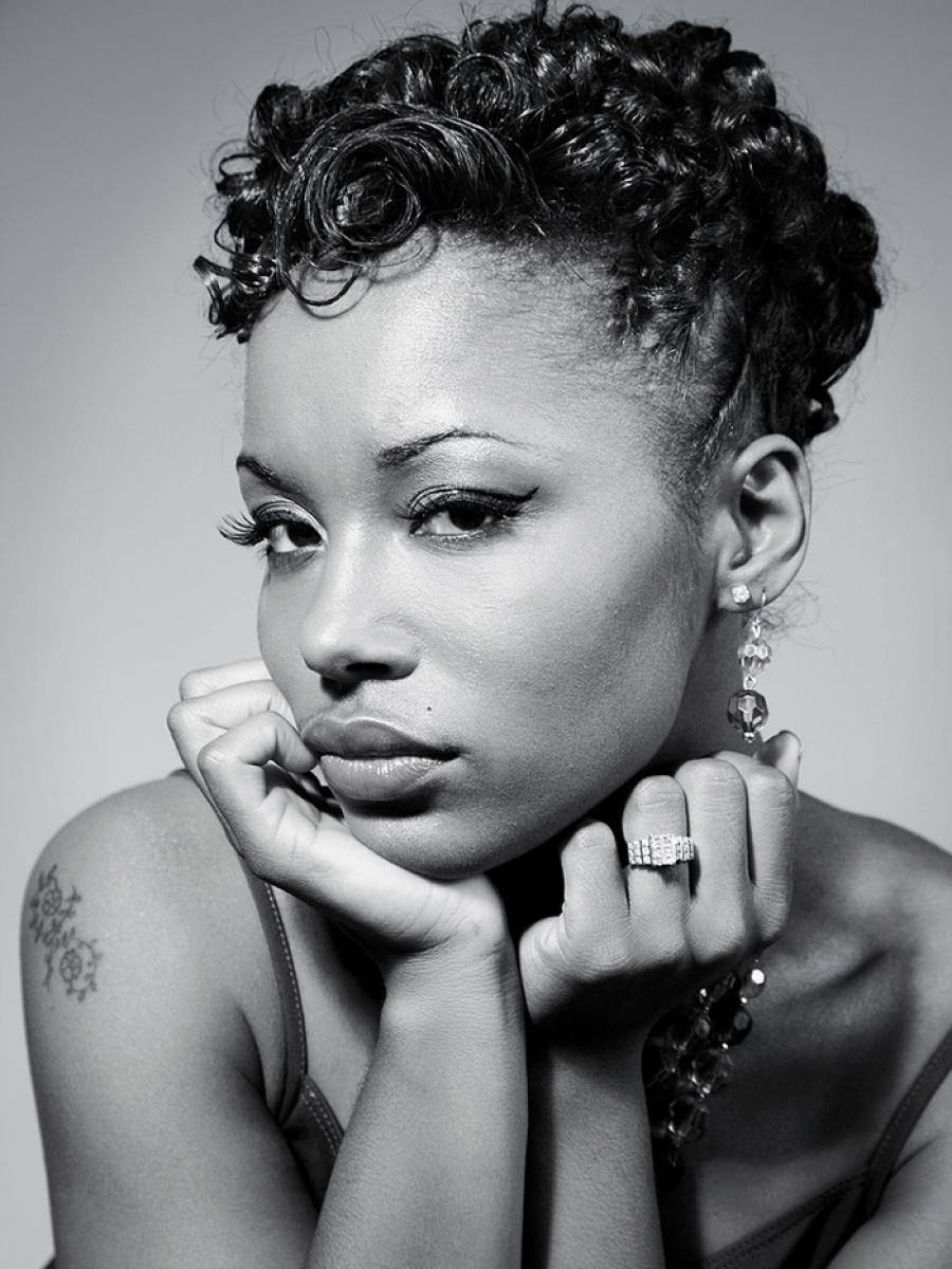 Pictures of Different Natural Short Hairstyles for Black Women