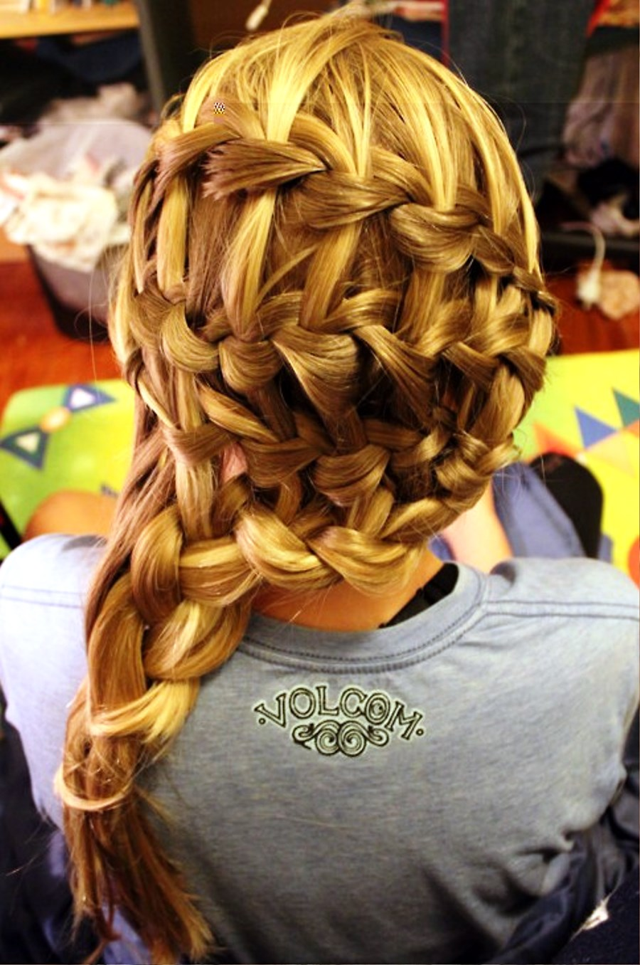Dutch Waterfall Braid Hairstyles