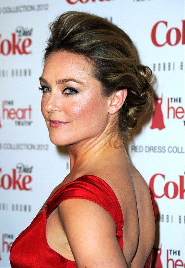 Elisabeth Rohm Latest Updo Hairstyles Behairstyles