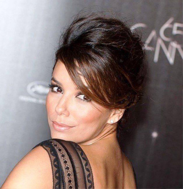 Eva Longoria French Twist Behairstyles
