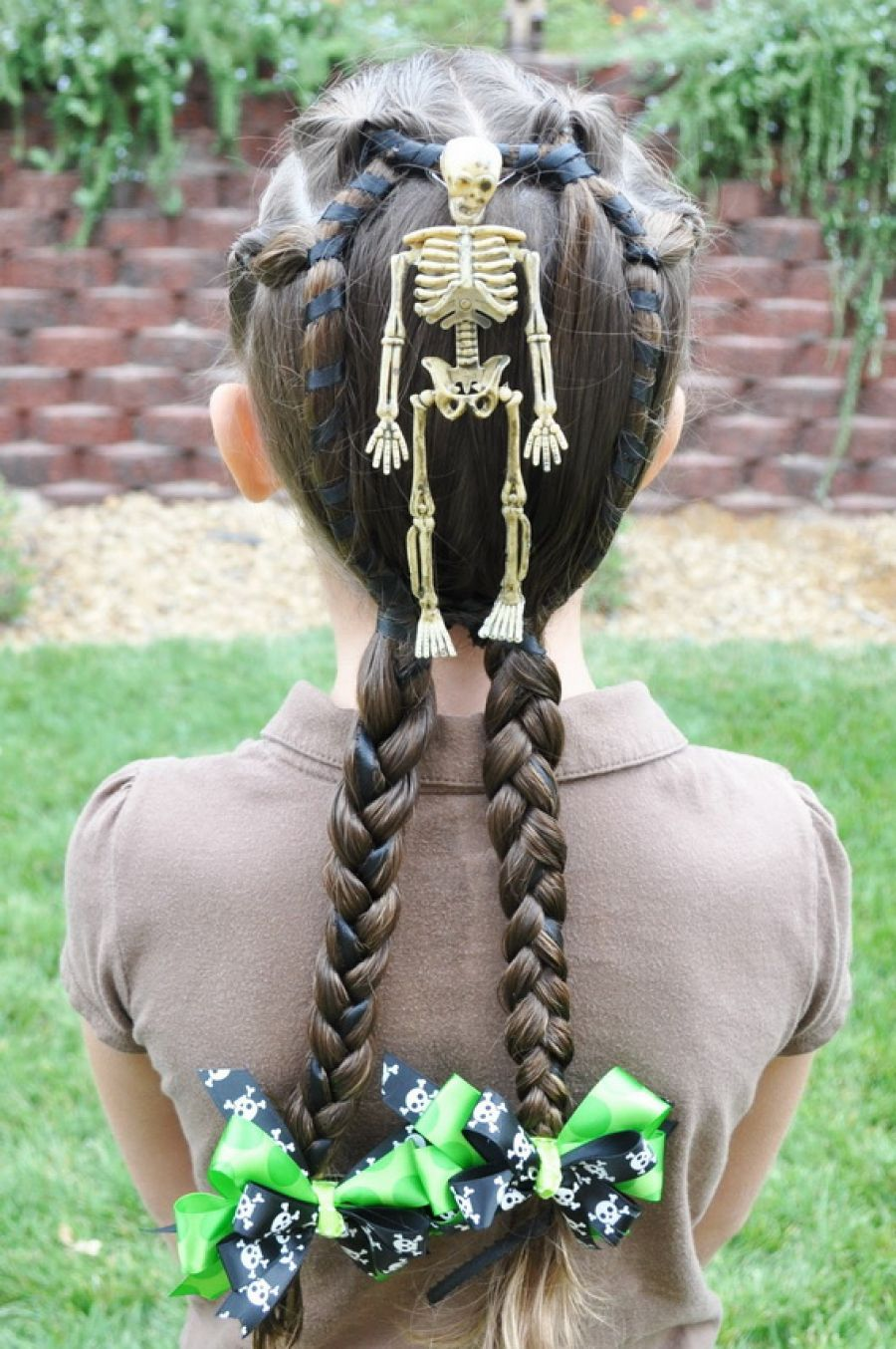 pictures of hairstyles kids can do themselves