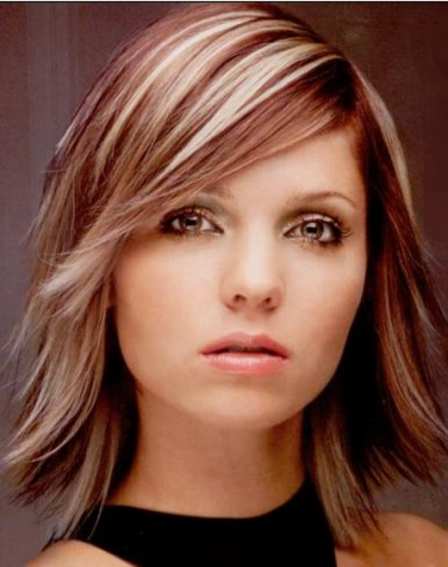 Inverted Bob Hairstyles Medium Length Behairstyles